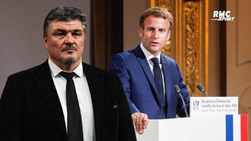 """Paris 2024 : Le coup de pression de Macron était """"destiné à Onesta"""" estime Douillet"""