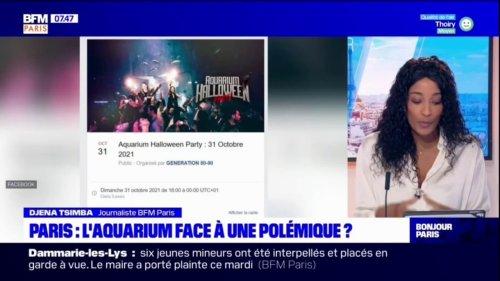 Paris: une soirée dans l'aquarium provoque la colère des associations de défenseurs d'animaux