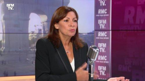 Anne Hidalgo face à Jean-Jacques Bourdin en direct - 21/09