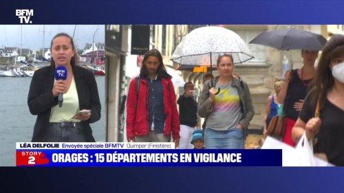 Story 6 : 15 départements placés en vigilance orange pour risque d'orage - 23/07