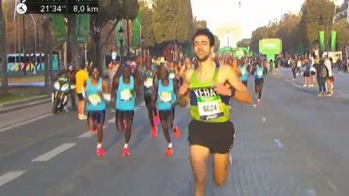 Marathon de Paris: quand un invité surprise prend la tête de la course