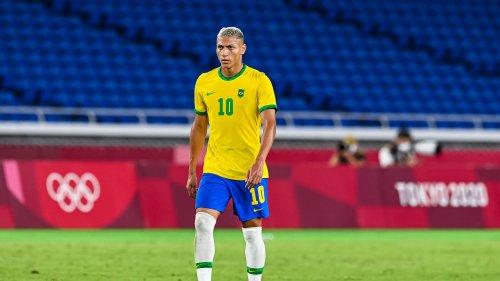 JO 2021, football: Paredes et Di Maria chambrent Richarlison, pourtant auteur d'un triplé face à l'Allemagne