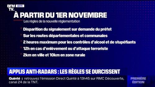 Applications anti-radars: la réglementation évolue au 1er novembre