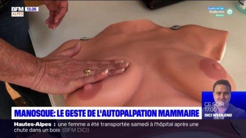 Manosque: des ateliers pour apprendre l'autopalpation mammaire