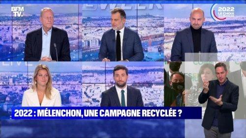 """""""Ne vous faites pas voler l'élection"""", Mélenchon - 17/10"""