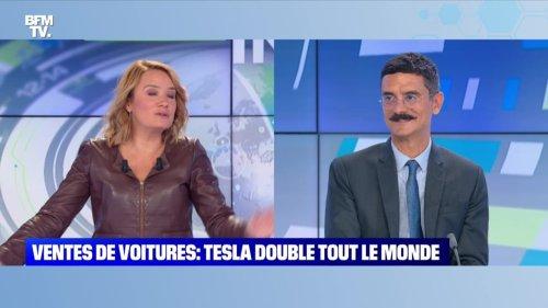 Ventes de voitures: Tesla double tout le monde - 26/10