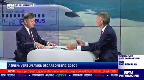 """Augustin de Romanet, PDG d'Aéroports de Paris (ADP): """"Nous nous préparons à ce que l'aéroport soit un lieu de production d'énergie mais aussi un hub pour fournir de l'hydrogène"""""""