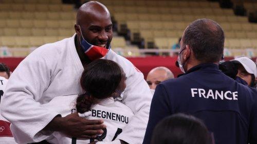 JO 2021 (judo): Riner explique pourquoi il a lâché Agbégnénou en fêtant le titre