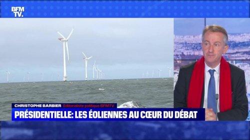 Présidentielle : les éoliennes au cœur du débat - 25/09