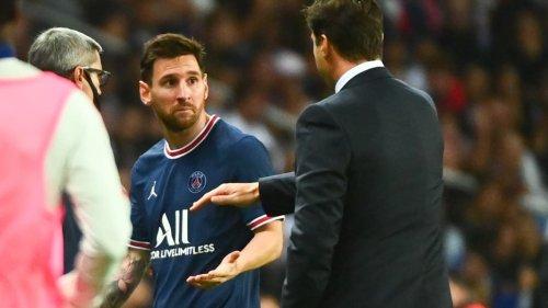PSG-OL: l'incompréhension de Messi à sa sortie face à Pochettino