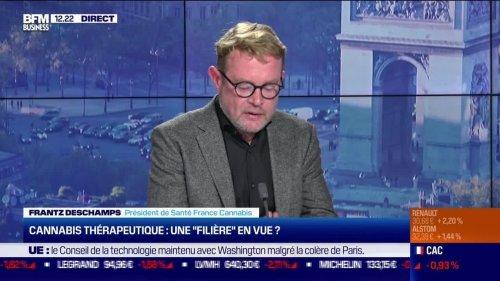 """Frantz Deschamps (Santé France Cannabis) : Cannabis thérapeutique, une """"filière"""" en vue ? - 24/09"""
