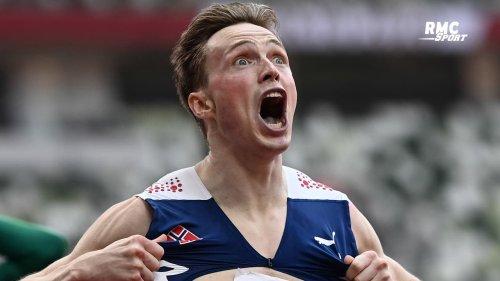 JO 2021 (Athlétisme) : La course stratosphérique de Warholm en finale du 400m haies (avec les commentaires RMC)
