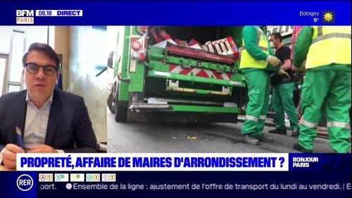 Geoffroy Boulard émet des doutes sur la potentielle décentralisation de la propreté aux maires d'arrondissement