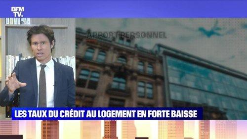 Les taux du crédit au logement en forte baisse - 25/07