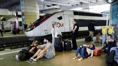 EN DIRECT - Le trafic bloqué à Montparnasse, 70 TGV touchés