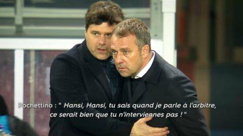 PSG-Bayern, le film de la qualification parisienne: quand Pochettino recadre Flick en plein match