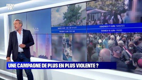 L'édito de Matthieu Croissandeau: Une campagne de plus en plus violente ? - 14/06