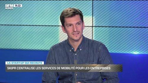 La start-up qui recrute: Skipr centralise les services de mobilité pour les entreprises - 17/04