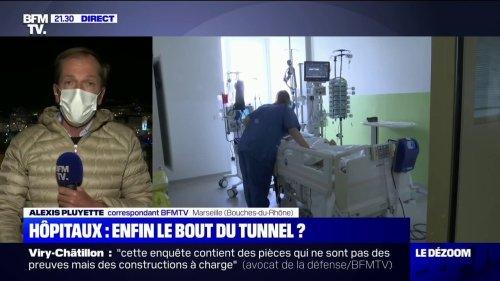 Covid-19: face à l'augmentation de nombre d'hospitalisations, les hôpitaux de Marseille ne croient pas à une amélioration de la situation