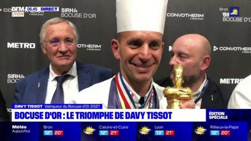 Grâce au chef lyonnais Davy Tissot, la France remporte le Bocuse d'Or 2021