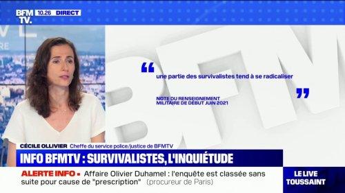 Selon une info BFMTV, le renseignement militaire s'inquiète de la radicalisation de certains survivalistes