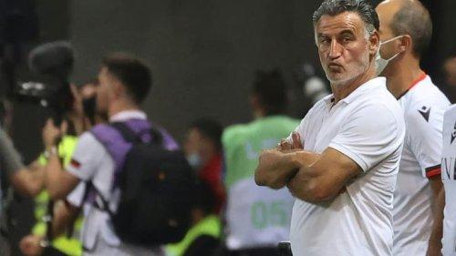 """Nice-OM: """"Mes joueurs auraient mérité de l'emporter"""", estime Galtier"""