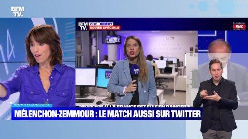 Mélenchon-Zemmour : le match aussi sur Twitter - 24/09