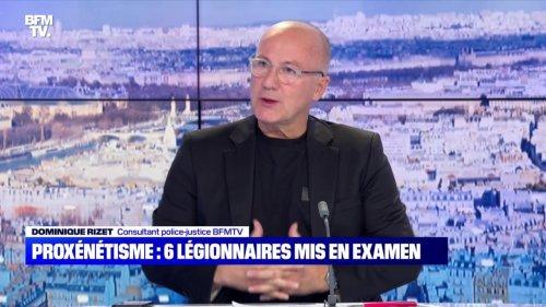 Proxénétisme : six légionnaires mis en examen - 24/10