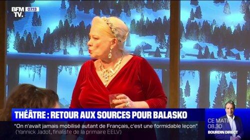 """""""Un chalet à Gstaad"""": Josiane Balasko se confie sur son retour sur scène à Paris"""