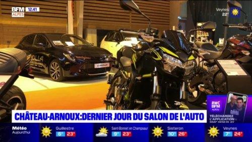 Château-Arnoux-Saint-Auban: dernier jour pour le Salon de l'automobile