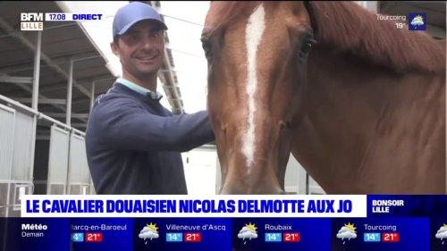 JO de Tokyo: Nicolas Delmotte rêve de remporter une médaille au concours de saut d'obstacles