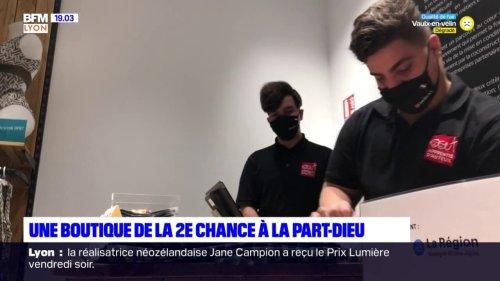 Lyon: une boutique à La Part-Dieu offre une seconde chance aux jeunes éloignés de l'emploi