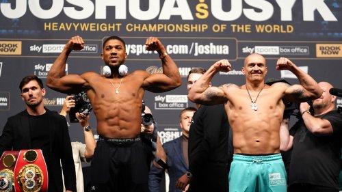 Boxe en direct: Joshua vs Usyk