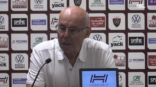 """RC Toulon : """"Il n'y aura pas 2 saisons comme ça,"""" Lemaitre passe à l'offensive"""