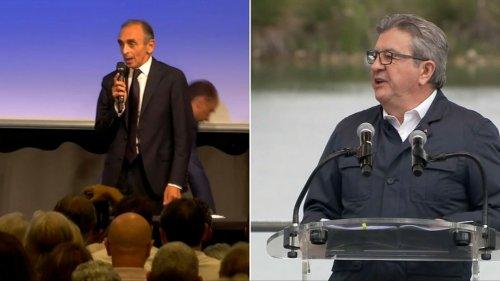 Présidentielle: un nouveau sondage donne Zemmour entre 10 et 10,5%, Mélenchon entre 7,5 et 8%