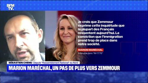 Marion Maréchal, un pas de plus vers Zemmour - 23/10