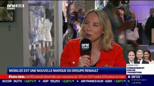 Renault présente un quadricycle électrique, le Mobilize Duo