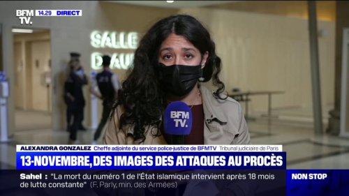 Procès du 13-Novembre: les images projetées témoignent de la violence du souffle causé par les explosions aux abords du stade de France