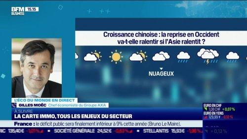 Gilles Moëc (Axa): Croissance chinoise, la reprise en Occident va-t-elle ralentir si l'Asie ralentit ? - 15/07