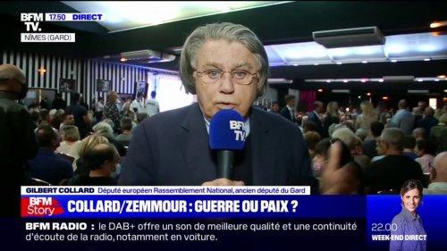 """Rencontre avec Éric Zemmour: Gilbert Collard a """"l'intention ferme et déterminée de maintenir le rapprochement"""""""