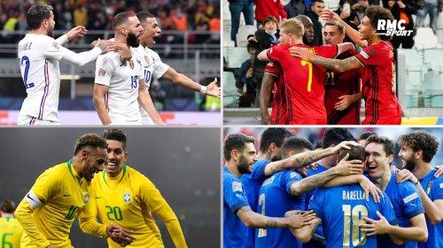 Classement Fifa : La France retrouve le podium, la Belgique toujours en tête