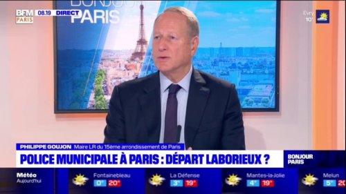 """Philippe Goujon, maire du 15e arrondissement, regrette que la police municipale parisienne ne soit pas """"armée"""""""