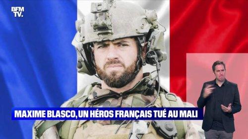 Maxime Blasco, un héros français tué au Mali - 25/09