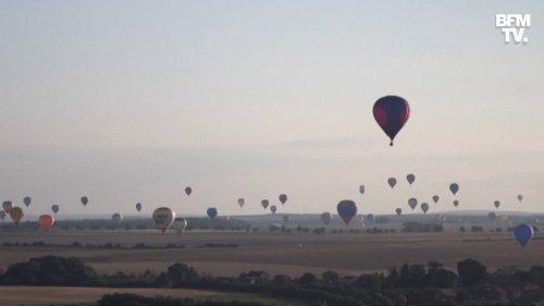 300 montgolfières sont venues habiller le ciel de Meurthe-et-Moselle jeudi