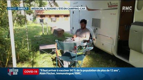 Un jeune médecin se lance dans un tour de France des remplacements à bord de son camping-car