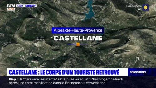 Castellane: le corps d'un touriste retrouvé dans un camping-car