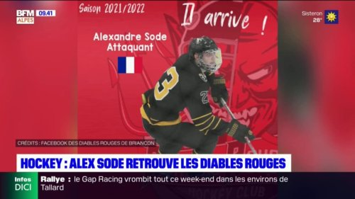 Hockey: Alexandre Sode retrouve les Diables rouges de Briançon