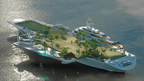 L'ex-porte-avion Foch sera-t-il transformé en hôtel de luxe ?