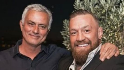 Dîner, whisky… l'improbable rencontre entre McGregor et Mourinho