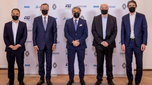 Atos, Dassault Systèmes, STMicroelectronics, Renault et Thales unissent leurs recherches sur la mobilité
